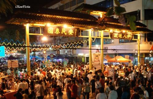 Gaya Street- Sea of People