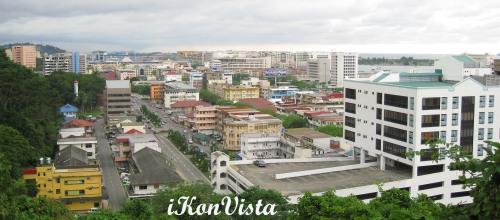 View of Kota Kinabalu