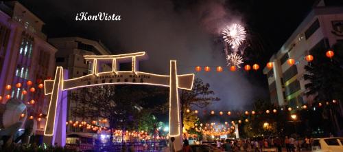 ��喜發財 -  Fireworks @ Gaya St Spring Festival
