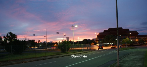 Dusk Colours by Likas Sports Complex