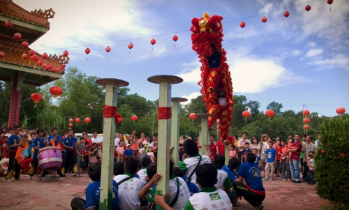 Puh Toh Tze Lion Dance- photo courtesy of Guy Blaski
