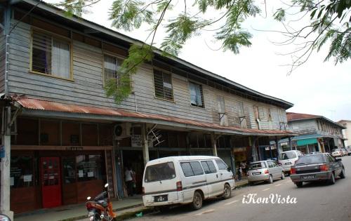 Wooden Shophouses