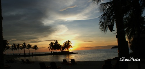 Splendour of Sunset @ Tanjung Aru Shangrila Beach Resirt