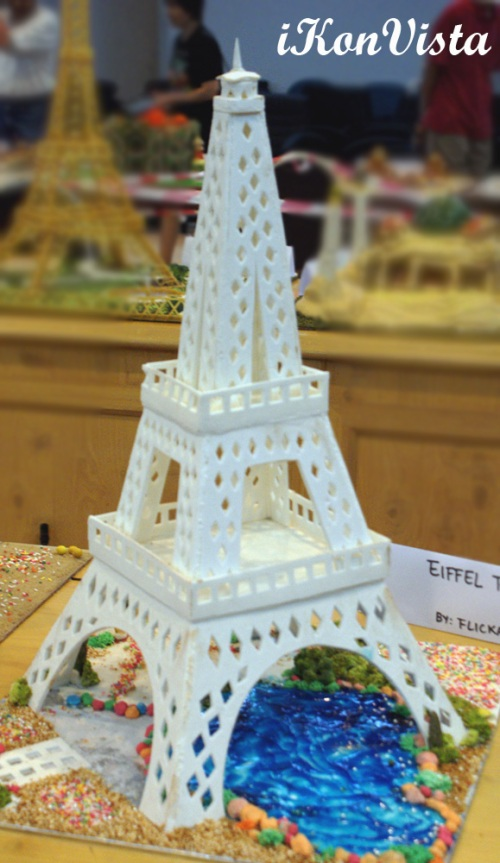 Eiffel of Paris by Flicka