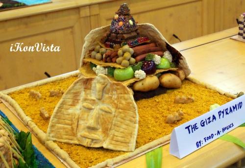 Giza Pyramid by Food-A-Holics