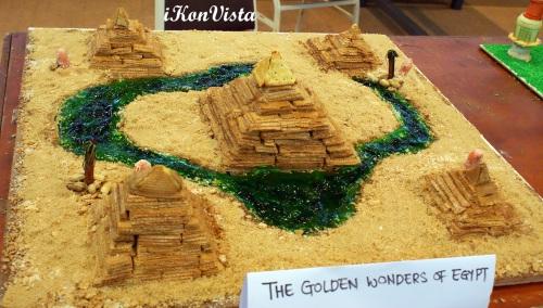 The Golden Wonders of Eqypt by Supernavac Hightech