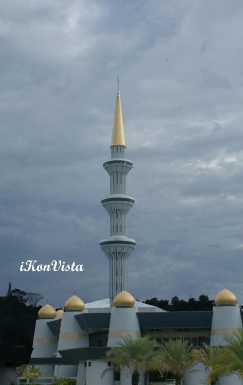 Minaret Of Sabah State Mosque