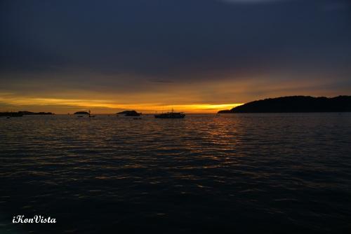 Sunset @ KK Esplanade