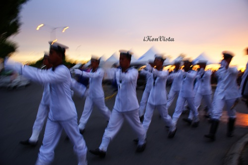 Navy on the March