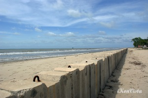 Concrete Slabs at Pantai Manis